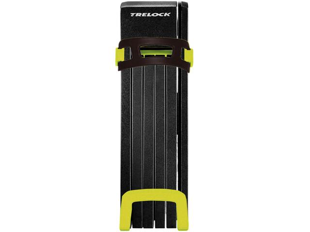 Trelock FS 200 TWO.GO L Folding Lock incl. holder yellow